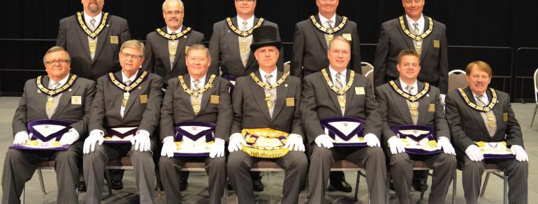 2015-2016 Grand Lodge Officers Installed