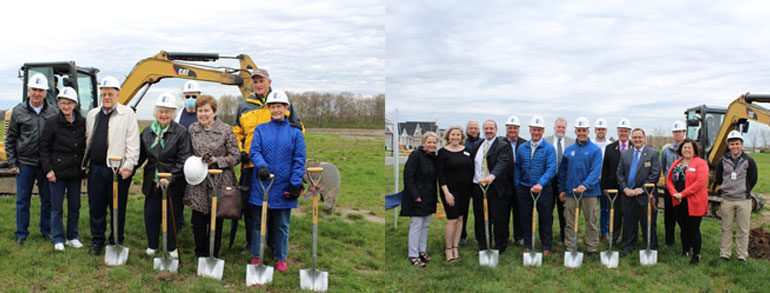 Breaking Ground at Water's Edge Villas