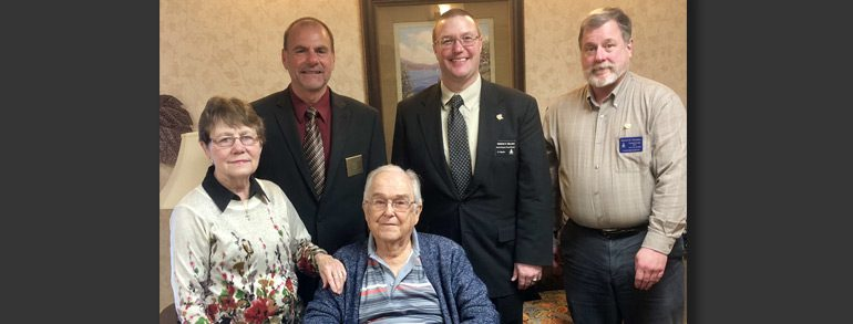Brother Hamlin Recognized for 75 years