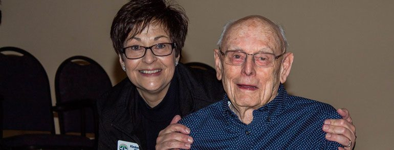CENTENARIAN OFFERS ADVICE FOR FATHERS, FINANCES  AND LONGEVITY
