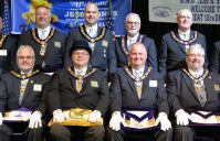 Introducing the Grand Lodge  Officers for 2019-2020