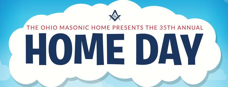 Come to the 35th Annual Ohio Masonic Home Day  June 9, 2019