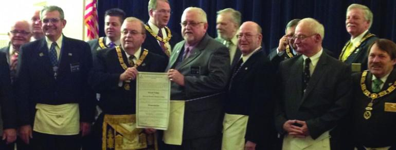 Grand Master forms new Lodge