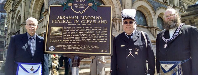 Ohio Freemasons Remember President Lincoln