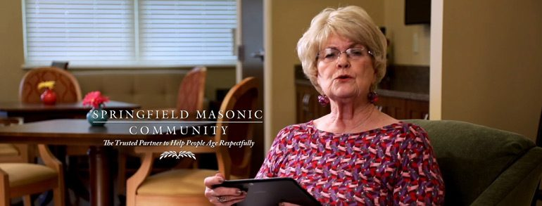 Ohio Masonic Home Residents are Ready for Their Close-up