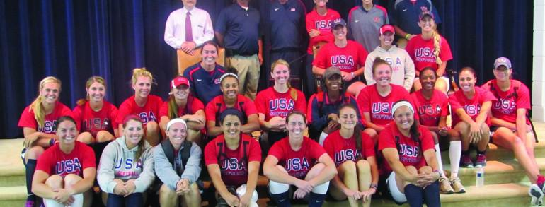 Team Usa Relaxes at Findlay