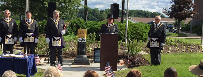 OMH Campuses Dedicate Veterans Monuments