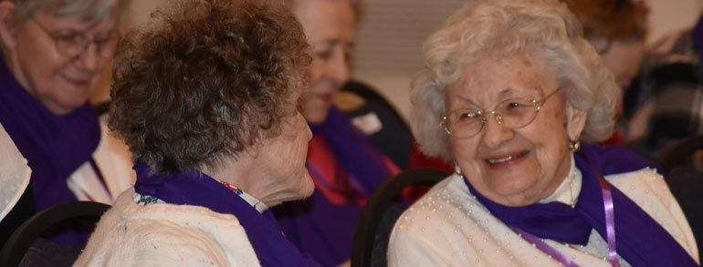 Western Reserve & Ohio Masonic Home Receive 2 Grants from the Ohio Arts Council for Memory Care Programming