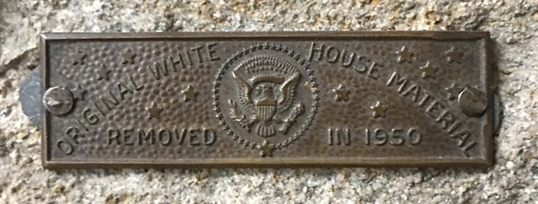 The White House Stone