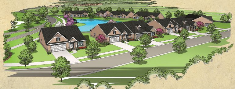 Announcing Water's Edge Villas at Browning Masonic Community!