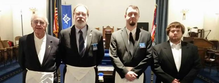 Four Generations Attend Anthony Lodge