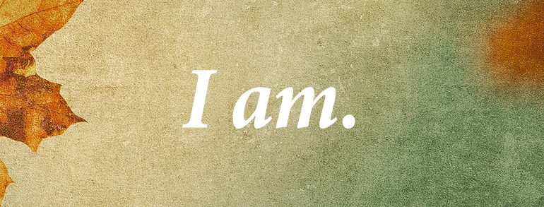 Ultimately…I am