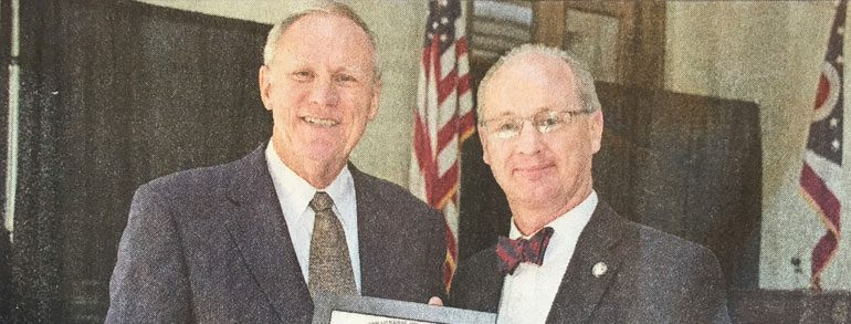 Mike Jackson Inducted Into Ohio Senior Citizens Hall of Fame