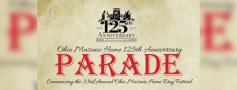Ohio Masonic Home 125th Anniversary Parade