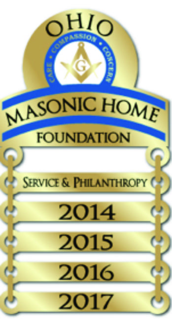 Ohio Masonic Home Foundation Donor Lapel Pins